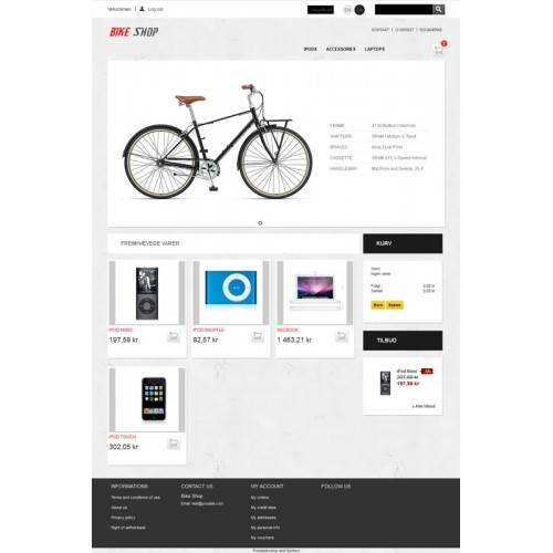 Bike shop Theme