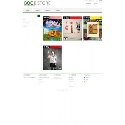 Book Store Theme