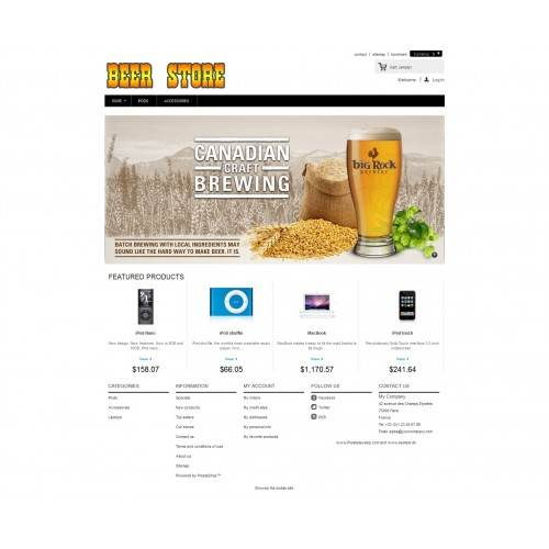 Beer Theme